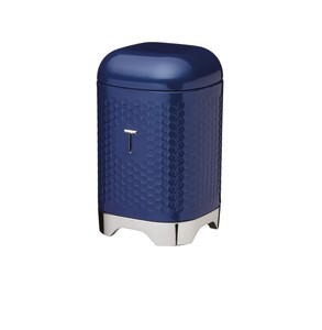 Lovello Midnight Navy Tea Canister