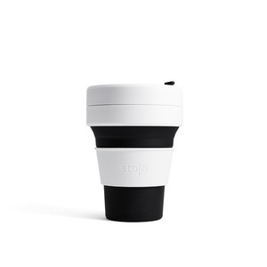 Stojo Pocket Collapsable Cup Black 355ml