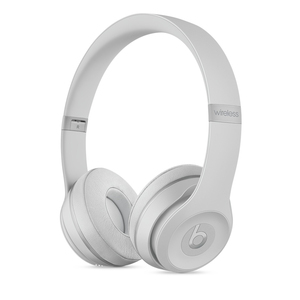 Beats By Dr. Dre Solo3 Matte Silver On-Ear Headphones
