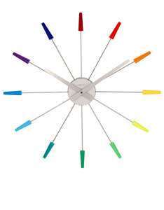 Nextime Pluginn Multi Color Clock
