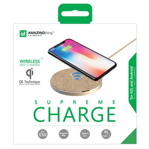 AMAZING THING SQ-02 GOLD WIRELESS FAST CHARGER