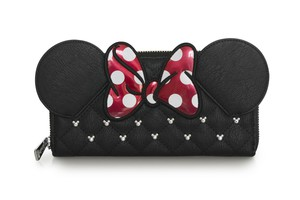 Loungefly Disney Minnie Bow Zip Around Wallet