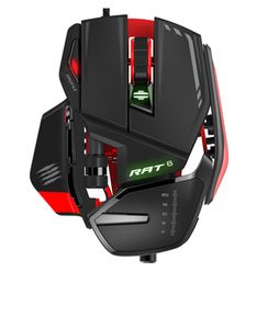 Mad Catz Rat 6 Black Gaming Mouse