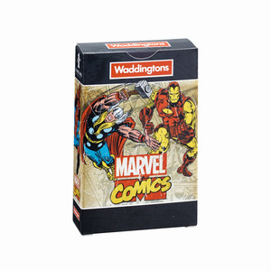 WADDINGTON'S PLAYING CARDS NO.1 MARVEL RETRO DECK