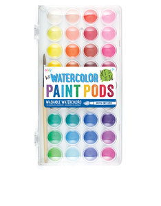 OOLY Lil Paint Pods Watercolors + Brush
