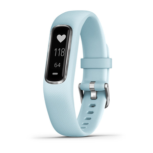 Garmin vivosmart 4 Azure Blue/Silver Activity Tracker S/M