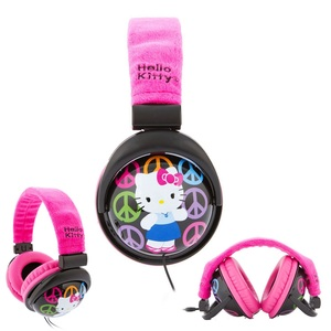 Hello Kitty Volume Control Headphone