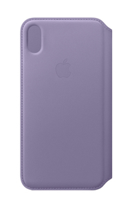 Apple Leather Folio Lilac for iPhone XS Max