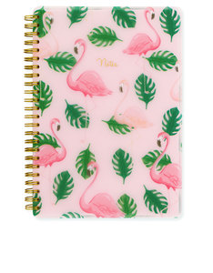 Go Stationery Flamingo A5 Polyprop Notebook