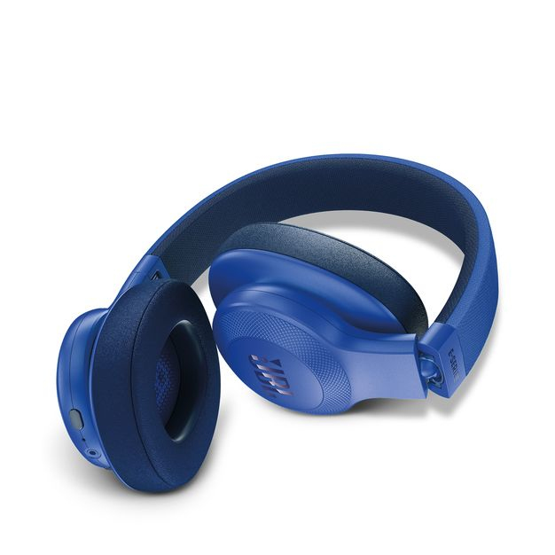 jbl headphones bluetooth. jbl e55 blue bluetooth over-ear headphones jbl