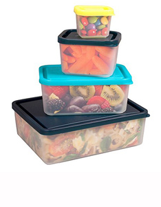 Bentology Box Food Containers Beach [Set of 4]