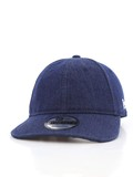 New Era Denim Packable Cap Navy/White