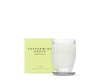 Peppermint Grove Coconut Grapefruit & Lime Candle 200g