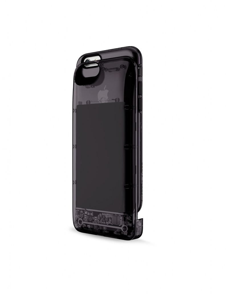Boostcase 2700Mah Hybrid Power Case See-Thru Onyx Iphone 6/6S
