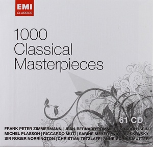 1000 CLASSICAL MASTERPIECES (HOL)