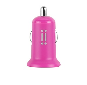 Aiino Usb 1A Pink Car Charger