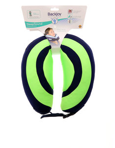 Backjoy Sleep Sound In Flight Pillow Lime Green