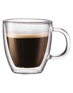 Bodum Bistro Double Wall Mug 0.3L [Set of 2]