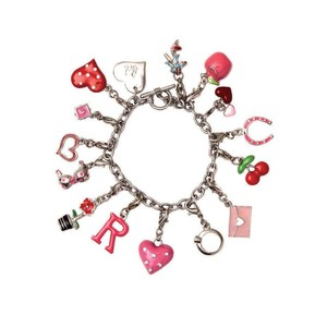 BOMBAY DUCK BRACELET WITH HEART TAG CHARM