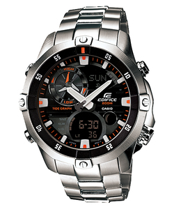 Casio EMA-100D-1A1VDF Edifice Quartz/Stainless Steel Watch