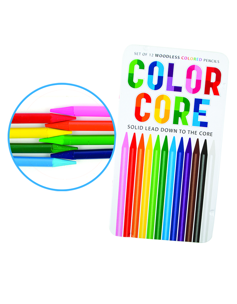 International Arrivals Color Core Colored Pencils [Set of 12]