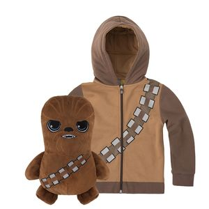 Cubcoats Star Wars Chewbacca Unisex 2-In-1 Hoodie