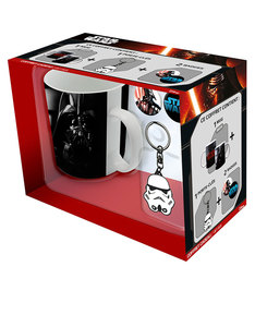 Abystyle Star Wars Pack Vader [Mug + Keychain + Badges]