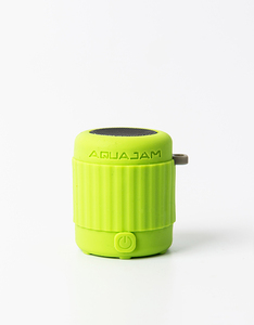 Aquajam AJ Mini Waterproof Light Green Bluetooth Speaker with Mic