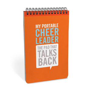 Knock Knock Personality Pads My Portable Cheerleader Notepad