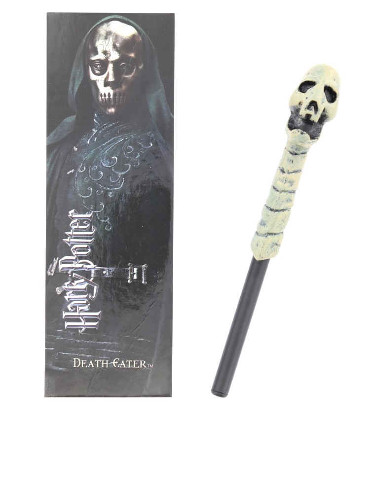 Noble Collection Harry Potter Death Eater Wand Pen & Bookmark