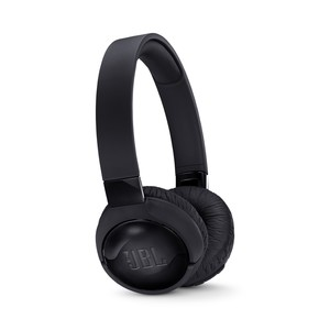 JBL TUNE600 BLACK BLUETOOTH NOISE CANCELLING ON-EAR HEADPHONES