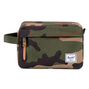 Herschel Chapter Travel Kit Woodland Camo