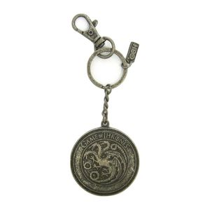 Time City Game Of Thrones Lannister Shield Snap Keychain