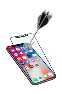 Cellularline Ultra Capsule Second Glass Screen Protector for iPhone X