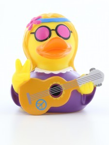 Lilalu Hippie Female Rubber Duck