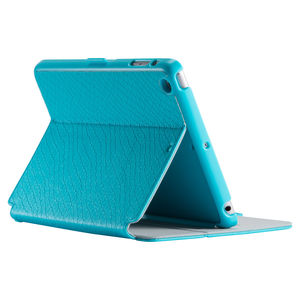 Speck Stylefolio Luxe Faux Snake Turquoise/Nickel Grey/Turquoise iPad Mini 3