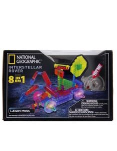 Laser Pegs National Geographic 8 In 1 Intersellar Roverkit