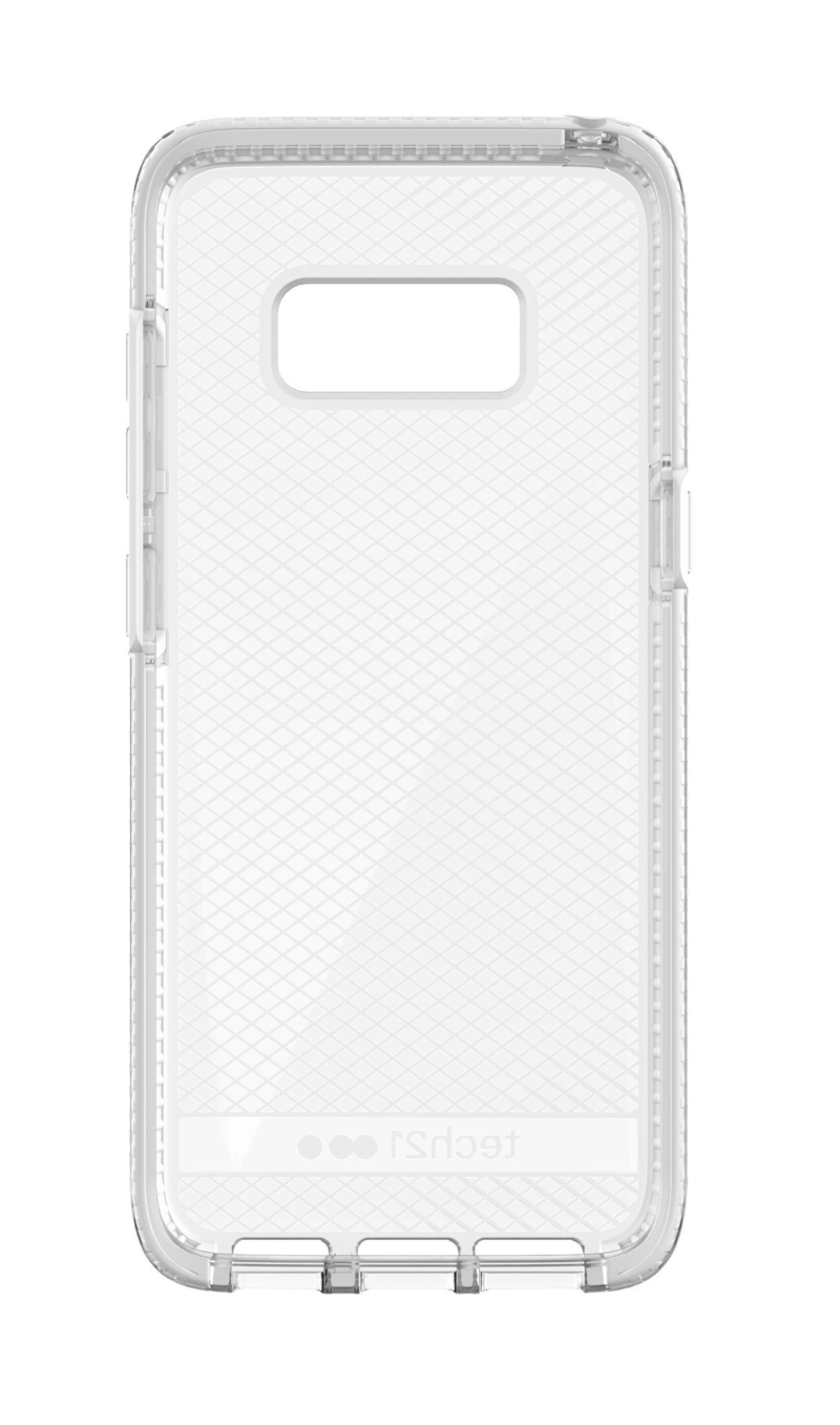 check small. Tech21 Evo Check Galaxy S8 Small Clear/White