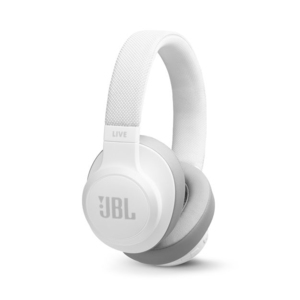 JBL Live 500BT White On-Ear Headphones