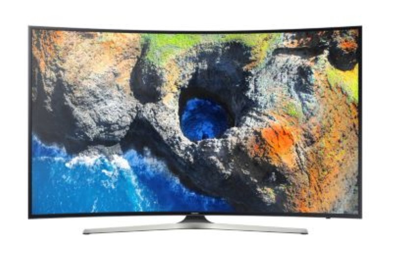 "Samsung 55"" Curved UHD LED Smart TV MU7350 Series"