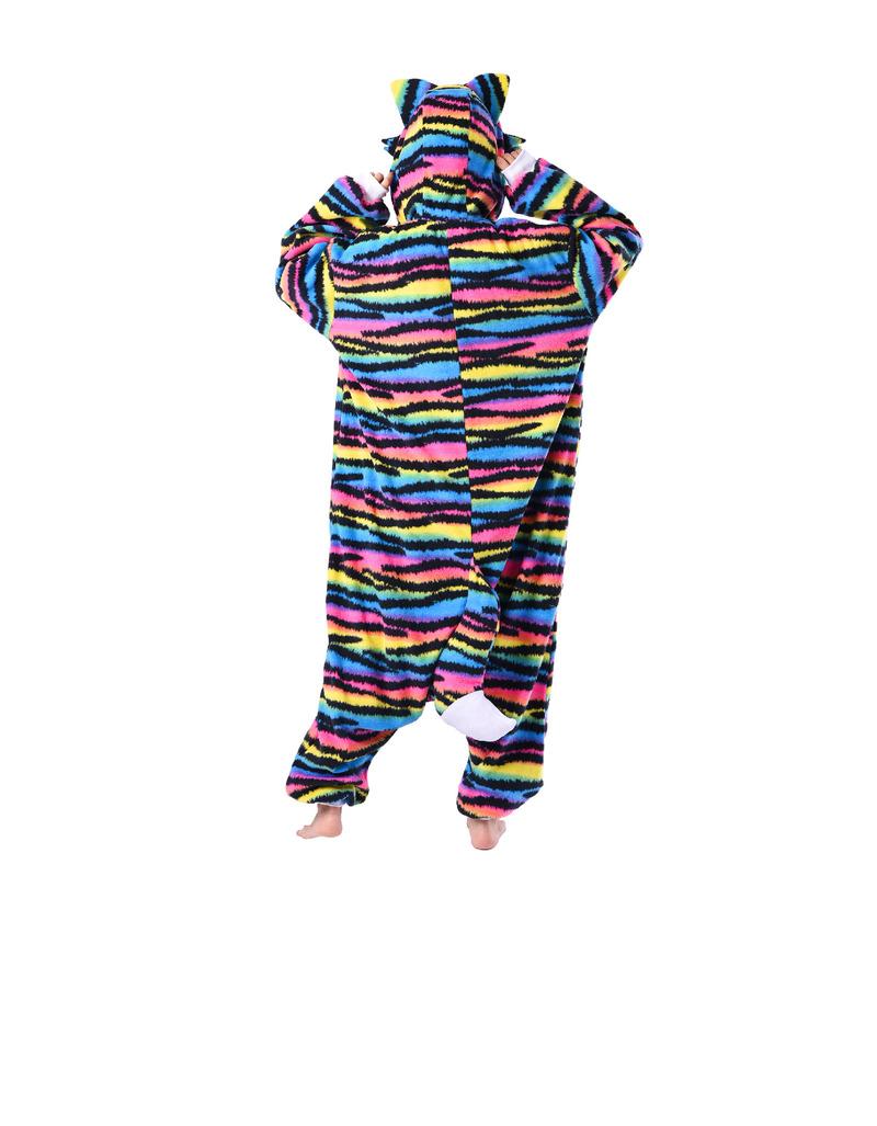 0080f51e1c7 Rave Cat Kigurumi Adult Fleece Costume