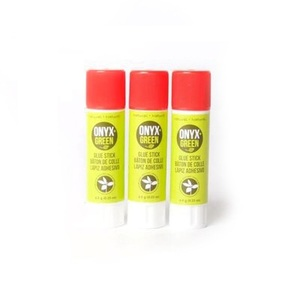 Onyx + Green Plant Based Glue Sticks [3 Pack]