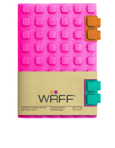 Waff Glitter Combo Pink Medium Notebook