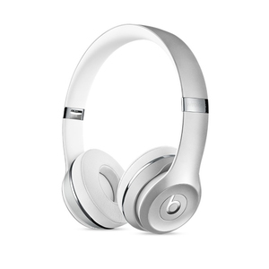 Beats Solo3 Silver Wireless On-Ear Headphones