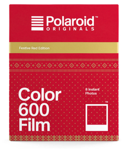 Polaroid Color Film for 600 Festive Red Edition
