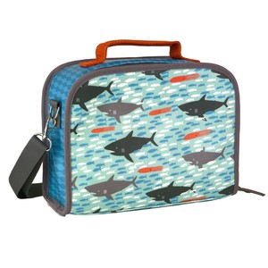 Petit Collage Sharks Insulated Lunchbox
