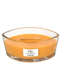 Woodwick Heart Wide Flame Sparkling Orange Large Candle