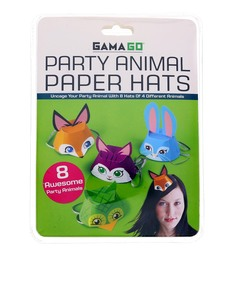 Gamago Awesome Animal Party Kid's Hats
