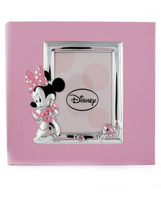 Disney Minnie Candy Photo Frame Silver/Pink [30x30cm]