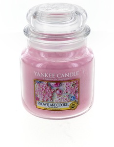 Yankee Candle Classic Jar Medium Snowflake Cookie